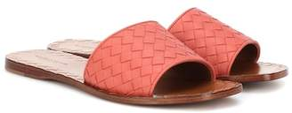 Bottega Veneta Ravello intrecciato leather sandals