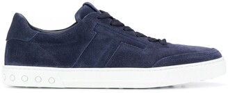 Tod's flat lace-up sneakers
