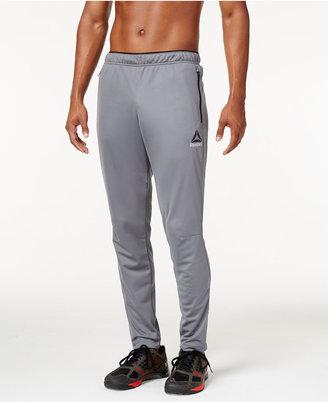 Reebok Men's PlayDry Slim Track Pants $40 thestylecure.com