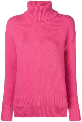 Golden Goose turtle-neck ribbed sweater