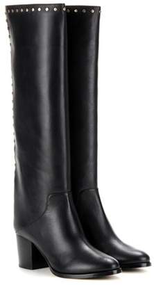 Jimmy Choo Monroe 65 embellished leather knee-high boots
