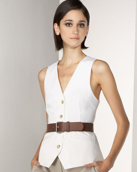 Theory Belted Vest