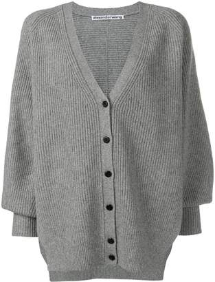 Alexander Wang draped oversized cardigan
