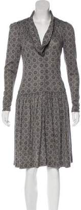 Chanel Wool Knee-Length Dress