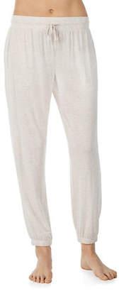 Donna Karan Heathered Jogger Pants