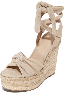 KENDALL + KYLIE Grayce Wedges $160 thestylecure.com