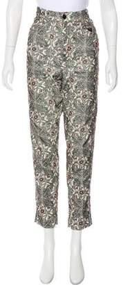 Isabel Marant High-Rise Corduroy Pants