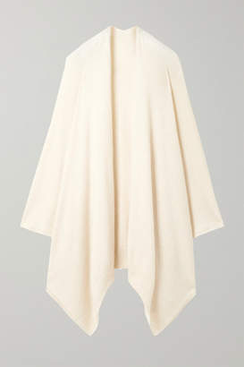 The Row Hern Asymmetric Cashmere-blend Cardigan - Off-white
