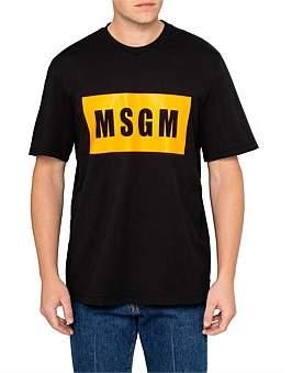 MSGM Logo Print Tee