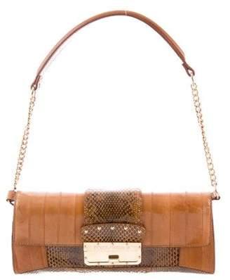 Dolce & Gabbana Eel Skin Shoulder Bag