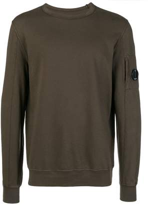 C.P. Company button detail sweatshirt