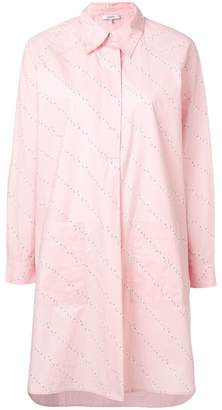 Ganni midi shirt dress