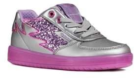 Geox Kommodor Glitter Light Up Sneaker