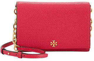 Tory Burch Georgia Leather Flap Shoulder Bag