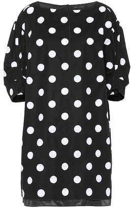 Marc Jacobs Polka-dot stretch-cotton dress