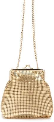 Forever 21 Metallic Chainmail Bag