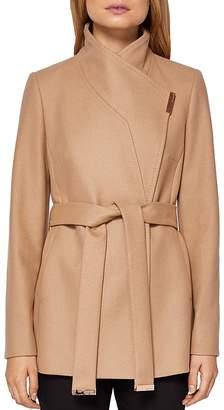 Keyla Short Wrap Coat