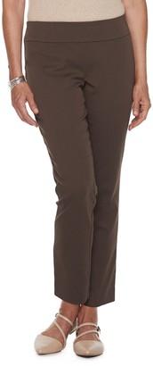 Croft & Barrow Petite Effortless Stretch Pull-On Pants