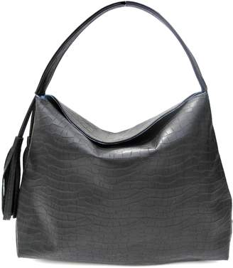Annie Diamantidis Leather Iris Hobo Bag