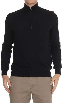 Hosio Turtleneck Zip Sweater