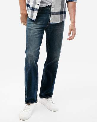 Express Classic Boot Medium Wash Stretch Jeans