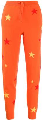 Parker Chinti & star patterned track trousers