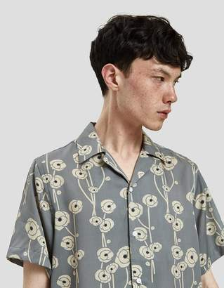 Saturdays NYC Canty Poppy S/S Shirt