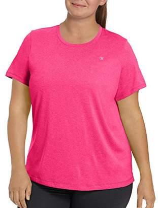 Champion Women's Plus Size Double Dry T-Shirt