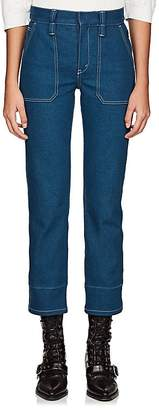 Womens Straight-Leg Crop Jeans Chloé Shopping Online Original coPWNTE