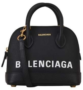 Balenciaga Black Ville Top Hanbag