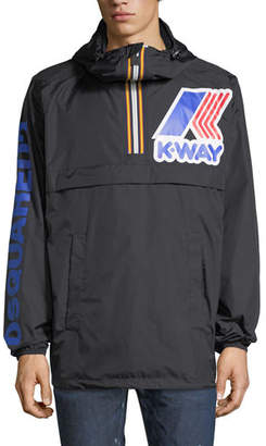 DSQUARED2 x K-Way® Short Reversible Nylon Packable Jacket