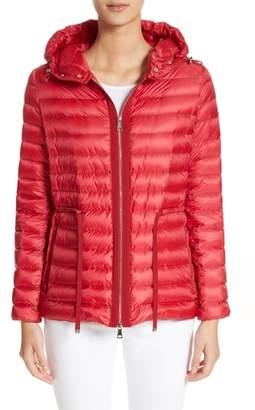 Moncler 'Raie' Water Resistant Hooded Down Jacket