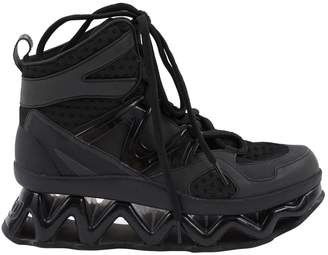 Marc by Marc Jacobs Black Cloth Trainers