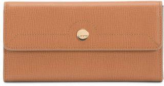 Rfid Leather Checkbook Clutch