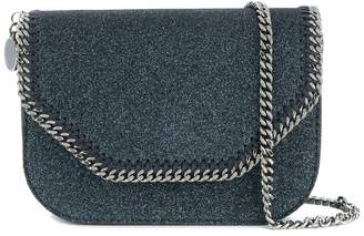 Stella McCartney Falabella Box glittered shoulder bag