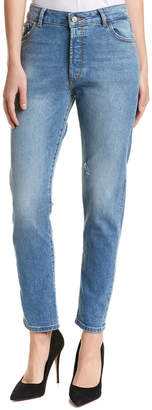 DL1961 Premium Denim Bella Sonata High-Rise Vintage Slim Leg