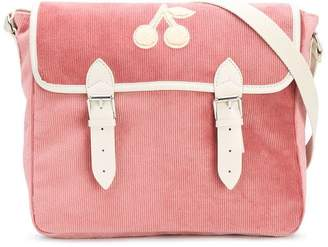 Bonpoint corduroy cherry shoulder bag
