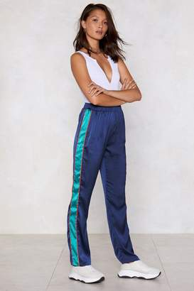 Nasty Gal Lost Track of Time Satin Pants