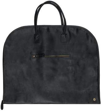 02af34d693a0 MAHI Leather - Full Grain Leather Suit Or Garment Carrier In Ebony Black