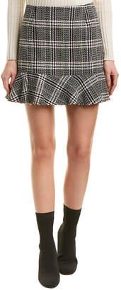 Haute Rogue Lana Plaid Ruffle Skirt