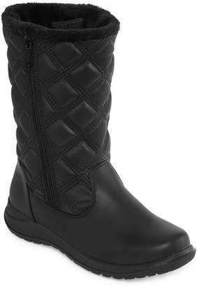 totes Womens Elsa-Tw Waterproof Winter Boots Zip