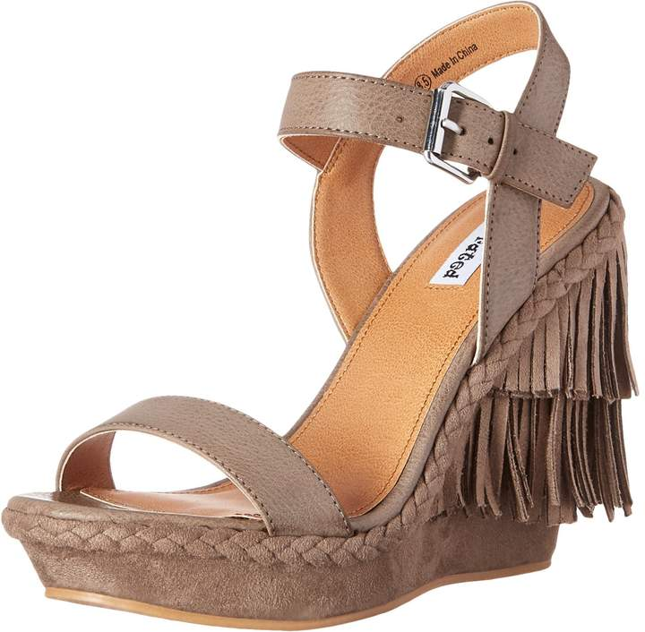 Not Rated Women's Roaring Ruby Wedge Sandal