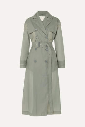 MACKINTOSH Belted Shell Trench Coat - Gray
