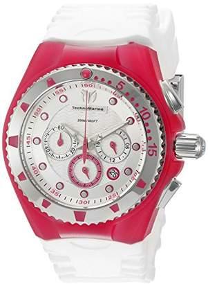 Technomarine Women's TM-115238 Cruise Angel Fish Analog Display Quartz White Watch
