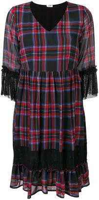 Liu Jo tartan print dress