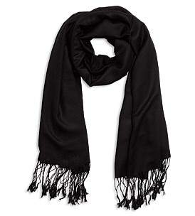 Gregory Ladner Plain Silk/Wool Wrap