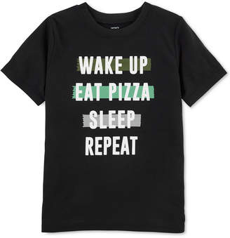 Carter's Big Boys Eat Pizza Pajama Top