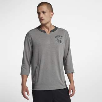Nike Flux Men's 3/4 Sleeve Baseball Crew