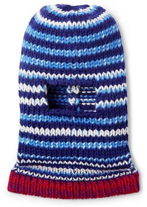 Calvin Klein Striped Wool Balaclava