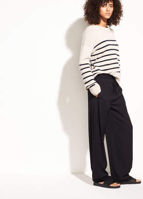 Vince Drawstring Wide-Leg Pants